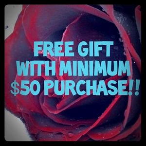 🎁Free Gift with $50 Purchase🎁